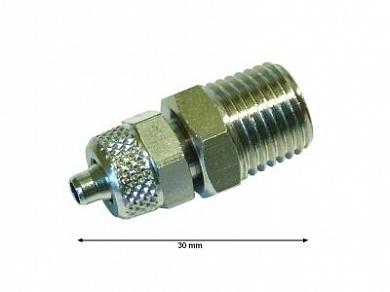"4031.160 Штуцер / CONNECTOR STRAIGHT 1/4"" MX6"